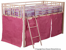 Metal Beds with Coil Spring Mattresses for Children