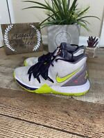 Nike  Kyrie 5 Mamba Mentality White Athletic Shoes Boys Kobe Bryant 5Y
