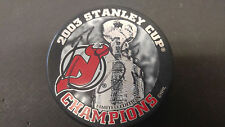 Brian Gionta New Jersey Devils Autographed Signed NHL Logo Puck COA