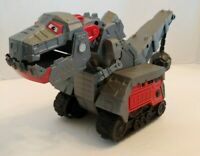 Dinotrux Armored Ty Rux Vehicle 2016 Mattel DTV76 with NEW Batteries