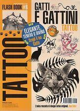Tattoo Flash Book 2016 8#Gatti e gattini,jjj