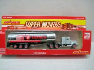 MAJORETTE SUPER MOVERS 600 SERIES #606 TEXACO TANKER TRUCK  MINT IN BOX   &