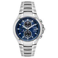 Citizen Eco-Drive Paradigm Men's Titanium Chronograph 43mm Watch CA0700-51L