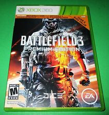 Battlefield 3 -- Premium Edition X360 (No DLC) *Free Shipping!
