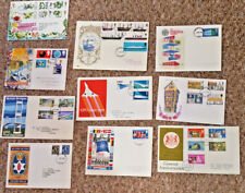 10 superb typed address 1960's 1970 first day covers - have been well kept