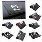 19*12cm Car Logo Magic Non-Slip Dashboard Sticky Pad Non-slip Mat GPS Phone Hold