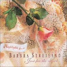 BARBRA STREISAND : HIGHLIGHTS FROM: JUST FOR THE RECORD (CD) sealed