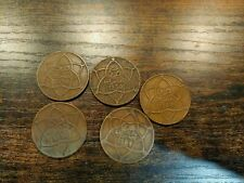 Morocco  Lot of 5 Coins 1330 1340