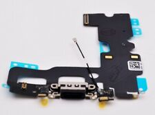 Original Apple iPhone 7 Lightning Dock Connector + Mikrofon Flex, Schwarz, black