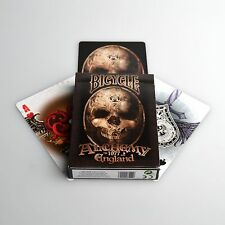 BICYCLE PLAYING CARDS DECK GOTHIC FANTASY ART NEW SEALED *ALCHEMY ENGLAND 1977*