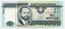 Mozambique 1000 Meticais 16-4-2006  Pick 148 UNC banknote Uncirculated Ref 189