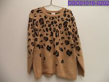 Women's Size XL Ingrid & Isabel Maternity Animal Pullover Sweater 559205