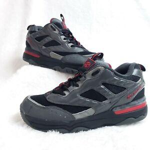 Men's 9 Heelys Black Gray Red Roller Skate Shoes 9111 Skatepark