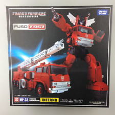 TRANSFORMERS TOY TAKARA MASTERPIECE MP-33 .KO INFERNO G1 ACTION FIGUER INSTOCK