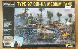Warlord Games Bolt Action World War II Wargames Type 97 Chi-Ha Medium Tank NEW