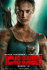 TOMB RAIDER MOVIE POSTER 2 Sided ORIGINAL Advance 27x40 ALICIA VIKANDER