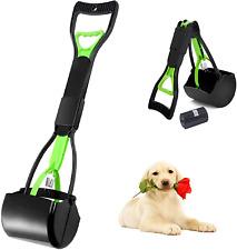 Best Dog Pooper Scooper Pet Waste Scoop Clean Poop Long Jumbo Handle Pick Up New