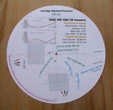 SAEC WE-506/30 progettati su misura BRACCIO Cartuccia Stylus allineamento Goniometro