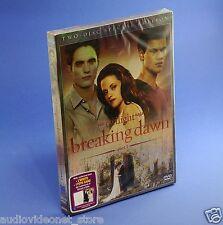 The twilight saga BREAKING DAWN PARTE 1 DVD - SPECIAL EDITION 2 DISCHI