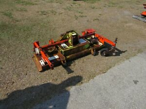 "Rotary Mower Deck 60"" Customized to fit Kubota F-2560 F-3060 F-3560"