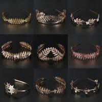 Jewelry Bride Headbands Leaves Hair Bands Hair Hoop Wedding Hair Accessories