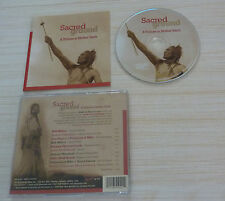 CD ALBUM SACRED GROUND - COMPILATION TRIBUTE TO MOTHER EARTH 10 TITRES 2005