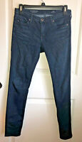 AG Adriano Goldschmied THE LEGGING ANKLE Super Skinny Crop Denim Jeans 25R EUC