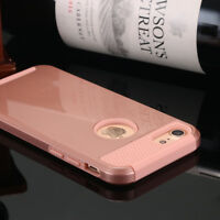 Fashion iPhone 8 Plus Shockproof Hybrid Rugged Rubber Hard Cover Case For Apple