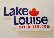 LAKE LOUISE ALBERTA BANFF SKI RESORT AREA SNOWBOARD/CAR SOUVENIR STICKER