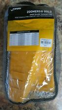 Finis Zoomers Gold D Short Blade Training Fins New Free Shipping