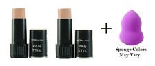 Max Factor Pan Stik  Creamy Makeup  9 gr, Medium #56 (2 Pack) + Makeup Sponge
