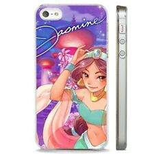 Aladdin Jasmine Princess Anime CLEAR PHONE CASE COVER fits iPHONE 5 6 7 8 X