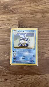 2000 Gold W Stamp Wartortle Base Set 2 Pokemon Card 63/130