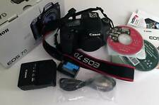 Canon EOS 7D 18.0MP Digital SLR Camera - Black (Body Only) Shutter Count 30344