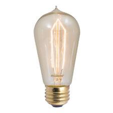 Set of 6 Bulbrite 40W 120V ST18 Nostalgic Decorative Bulb, E26 Base