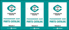 1970 1971 Dodge Plymouth Chrysler Master Parts Book lllustrated Catalog 70 71