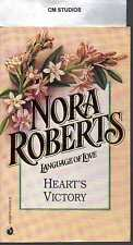 HEART'S VICTORY by NORA ROBERTS PB  LANGUAGE OF LOVE LOL # 16 BRAND NEW