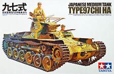 Tamiya 35075 Japanese Medium Tank Type 97 (Chi-Ha) 1/35 scale kit
