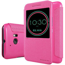 HTC 10 (10 Lifestyle) Nillkin Leder Schutz Hülle Tasche Nillkin Sparkle Leather