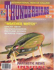 Thunderbirds #34 (23rd January 1993) TV21 full colour reprint strips