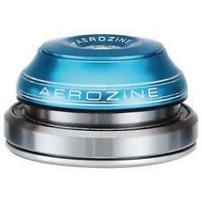 """AEROZINE Auricolare Completamente Integrato Tapered 1.1/8"""" - 1.5"""" Blu 42mm 52mm MTB"""