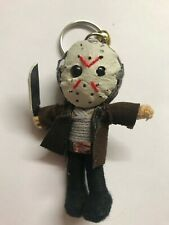 New Jason Mask 2019 Voorhees Friday the 13th Voodoo String Doll Keychain Keyring