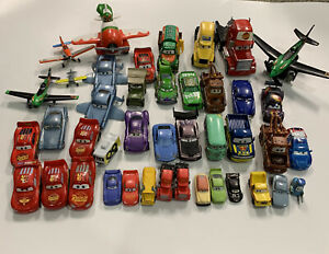 Disney PIXAR CARS MINI DIE-CAST LOT x42  - HARD TO FIND - PLANES INCLUDED