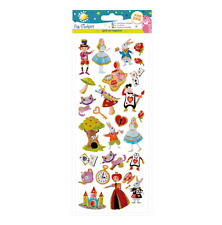 Alice In Wonderland - Stickers - Craft Planet - Fun Stickers - Foiled