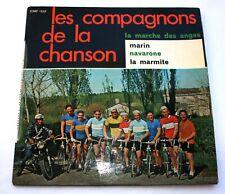 ANCIEN 45 TOURS / VINYLE / LES COMPAGNONS DE LA CHANSON « LA MARCHE DES ANGES »