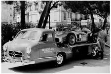 Mercedes-Benz racing car transporter & Mercedes 300 SLR Formula One - 1955 photo
