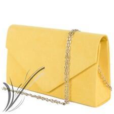 Dettagli su Borsa pochette pelle lucida effetto tartaruga gialla GUESS yellow leather clutch