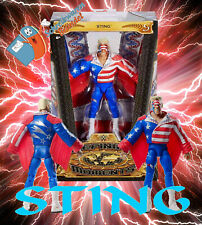 WWE Mattel Elite Defining Moments STING Wrestling Figur - Basic WCW RAW USA NEU
