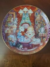 Franklin Mint Whisker Wuv by Bill Bell: Collectible Cat Plate