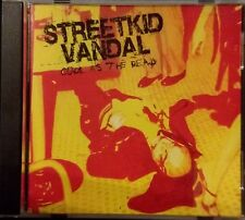 Streetkid Vandal: Cool As The Dead, 5 track CD, like new, ex music store stock